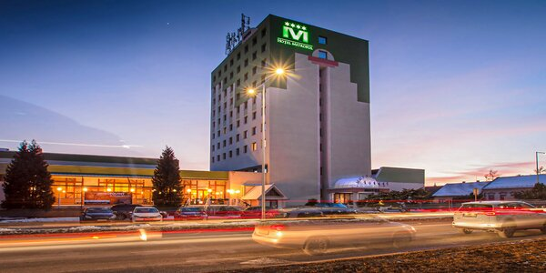 Komfortný rodinný Hotel Metropol**** v centre Spišskej Novej Vsi s wellness