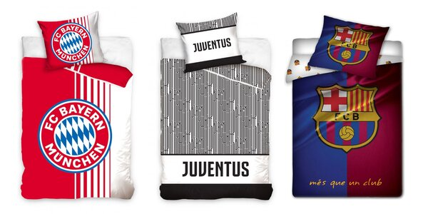 Fanúšikovské obliečky futbalových klubov