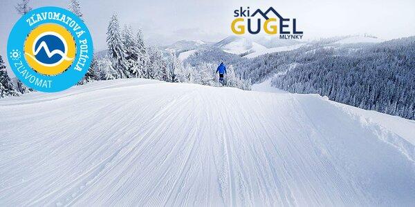 Skipasy do lyžiarskeho strediska SKI CENTRUM GUGEL MLYNKY
