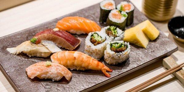 Dokonalé sushi menu pre dvoch