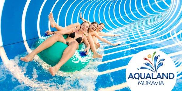 Aqualand Moravia: vstupenky i relaxačné balíčky