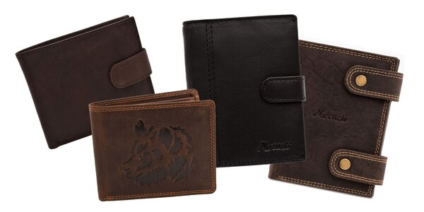 Pánska kožená peňaženka MERCUCIO