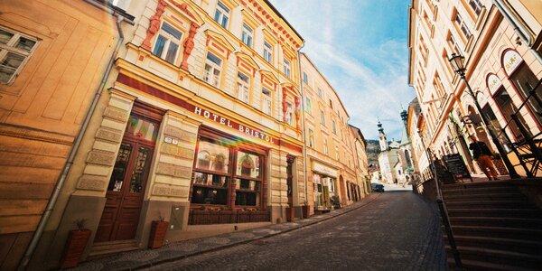 Romantika v historickom hoteli*** v centre Banskej Štiavnice