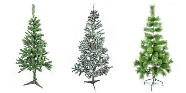 Krásne umelé vianočné jedle alebo borovice