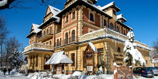 Luxusný pobyt v Grand Hotel Stamary**** v obľúbenom Zakopanom