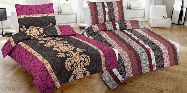 100% bavlnená posteľná bielizeň: 12 motívov