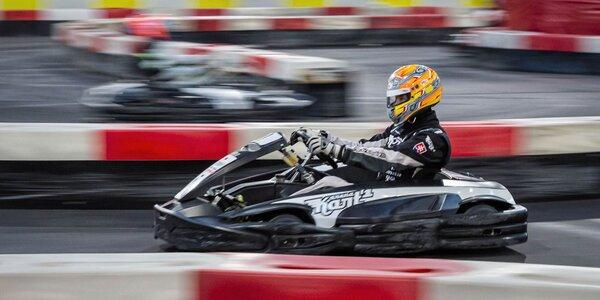 Zábavná jazda na motokárach v Kart One Arene