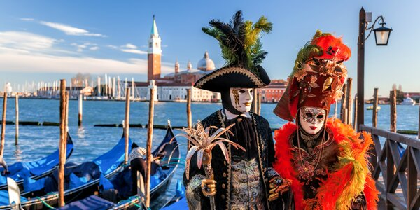 Karnevalové Benátky - loď do Benátok v cene zájazdu!