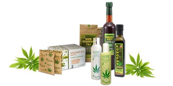 Prírodné konopné potraviny aj kozmetika zo slovenských polí