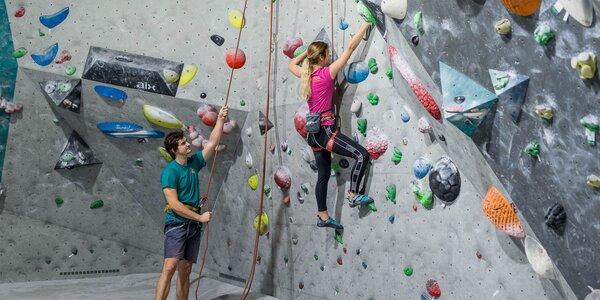 Vstup na lezeckú stenu - aj pre pokročilých!