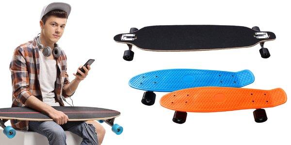 Skateboard, longboard alebo penny board
