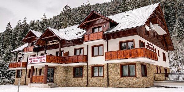 Zimný pobyt v Jasnej v moderných apartmánoch pre páry aj rodiny