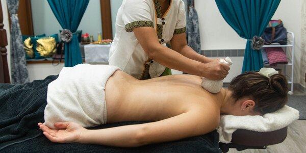 Thajské masáže: tradičná, olejová, chrbta a šije, bylinná