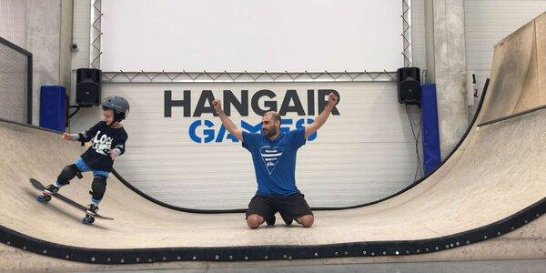 Balíčky akčnej zábavy a kurzov v športovej hale Hangair