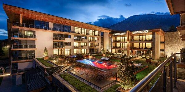 Hrebienok Resort: ubytovanie v luxusných apartmánoch