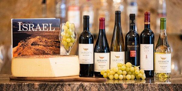Moderovaná degustácia 9 izraelských vín