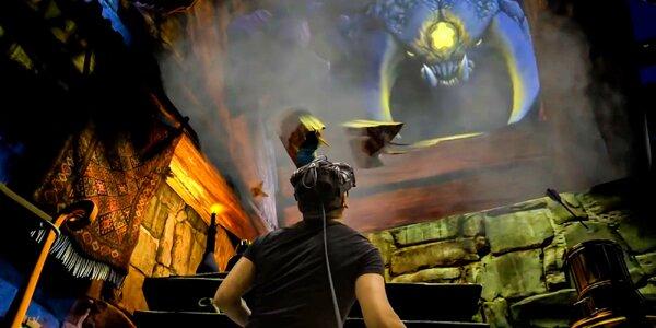 Zábava vo virtuálnej realite pre 1 až 20 osôb