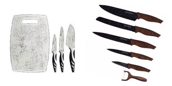 Kvalitné sady nožov aj so škrabkou či stojanom