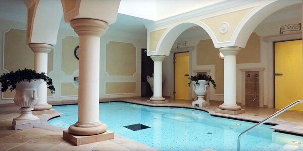 Hotel so svetovým ocenením World Luxury Award - exkluzívne wellness a prvotriedne služby