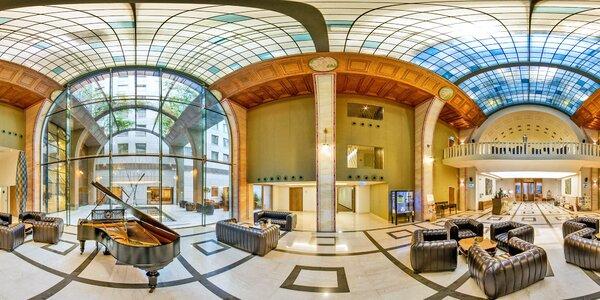 Luxusný hotel v centre Budapešti s neobmedzeným wellness