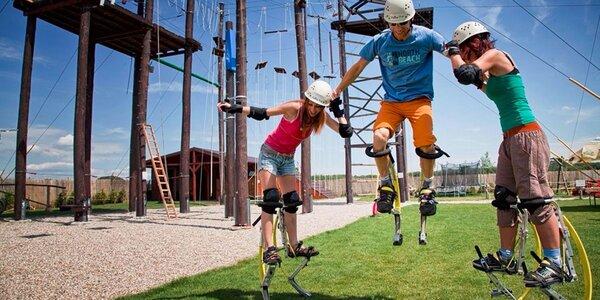 Adrenalínový zážitok v Action Parku Čunovo
