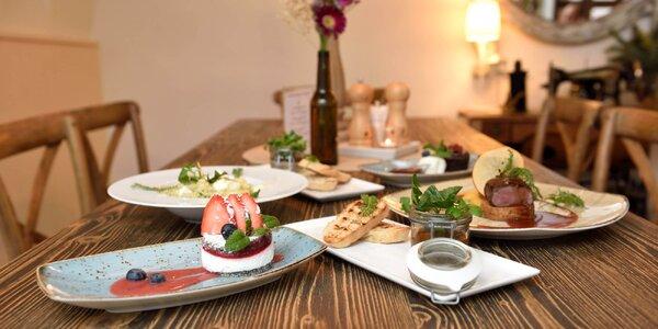 Otvorený voucher na konzumáciu jedla a nápojov v hodnote 50 € v reštaurácii Starý dom