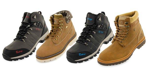Zimná obuv Kappa a Kastinger pre ženy aj mužov