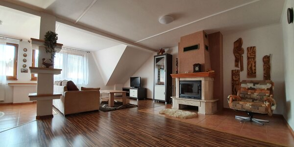 Pobyt na Orave v Habovke v priestrannom apartmánovom dome
