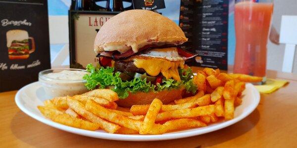 Nadupané burgery a toasty + bezodná limonáda!