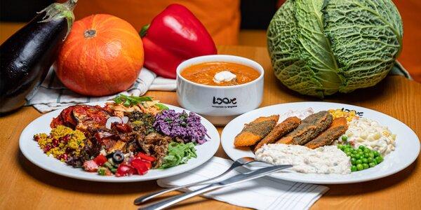 Denné menu v najväčšej vegánskej reštaurácii na Slovensku