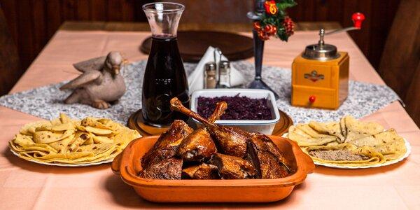 Husacie alebo kačacie hody na váš stôl - aj na donášku