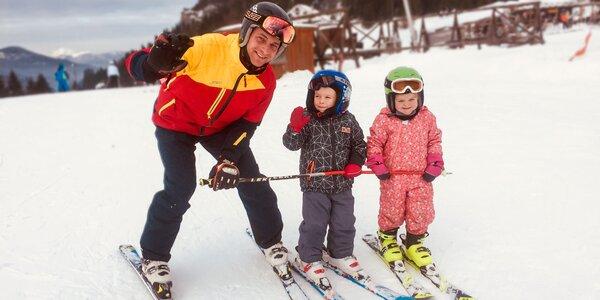 Lekcie lyžovania a zapožičanie výstroja v InterSki Malinô Brdo