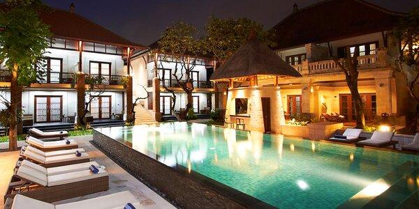 4* Griya Santrian Resort na Bali s raňajkami