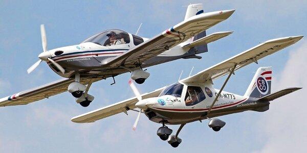 Slovensko z neba - poznávací let fotografickým lietadlom