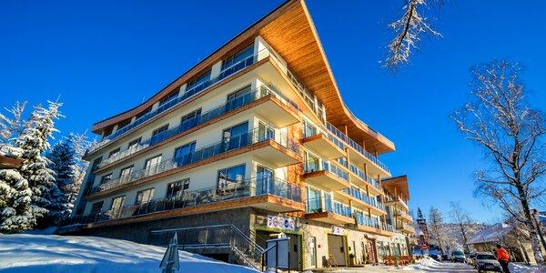 Dependence Hrebienok Resort: ubytovanie v moderných apartmánoch