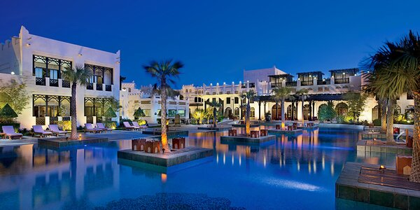 5* Sharq Village & Spa s plnou penziou