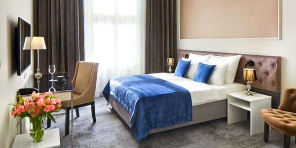 5* hotel v srdci Krakova - wellness, raňajky alebo polpenzia