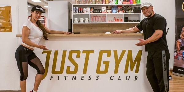 Permanentky do NOVOOTVORENÉHO fitness clubu JUST GYM