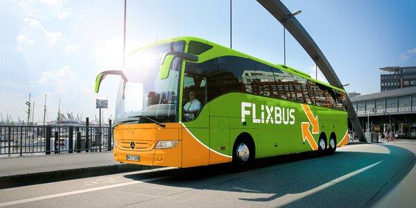 15 % až 30 % zľavy na konkrétne linky FlixBus