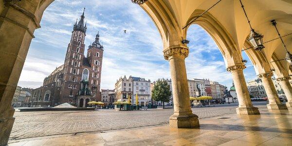 Krakov a raj zážitkov v bani Wieliczska - dvojdňový zájazd