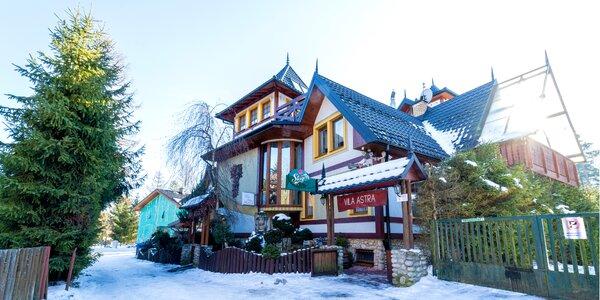 Pobyt s raňajkami a s privátnym wellness vo Vysokých Tatrách