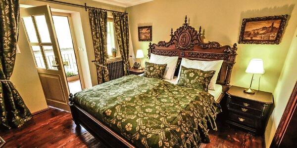 Luxusný historický hotel v Krumlove s wellness