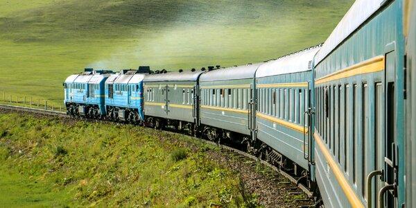 Transsibírska magistrála Moskva - Vladivostok alebo Bajkal