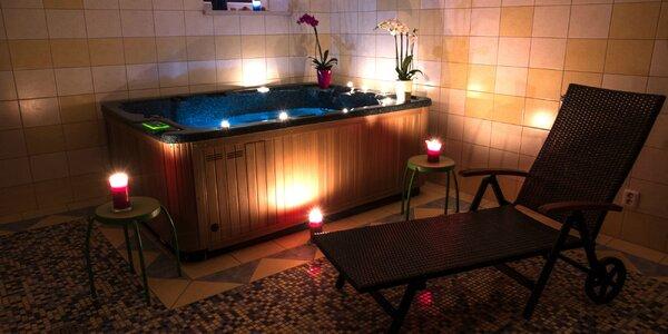 Privátne wellness v obľúbenom penzióne v centre Piešťan