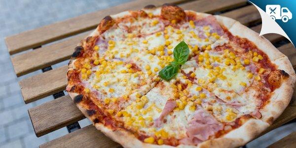 Pizza podľa vlastného výberu s donáškou