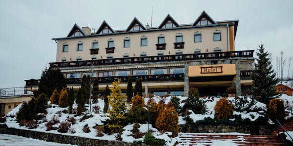 4* zimný pobyt v tichom horskom prostredí Kysúc