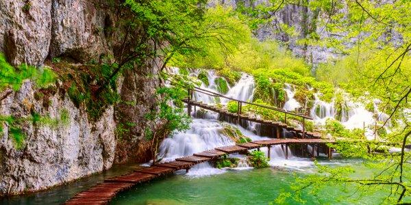 Zájazd do Chorvátska: nádherné Plitvické jazerá a Záhreb