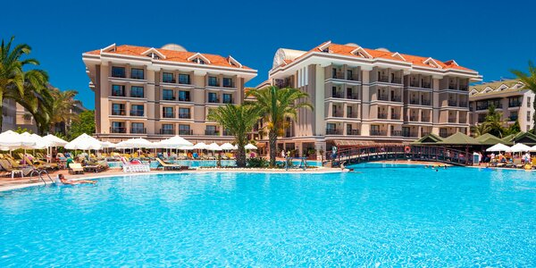 Antalya all inclusive: 5* hotel s aquaparkom i spa