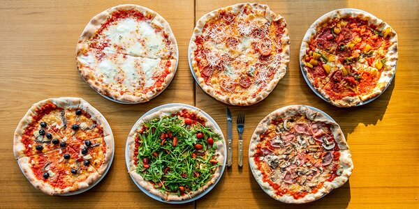 Výnimočná pizza z kvalitných surovín - bezkontaktný výdaj!