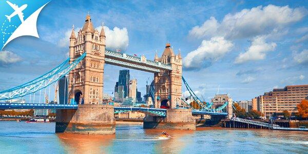 Letecký zájazd do Londýna: odlet z BA alebo KE